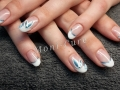 Gelnagels nail art