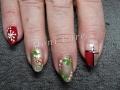 Gel nagels kerst