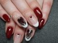 Gelnagels handgetekende nail-art
